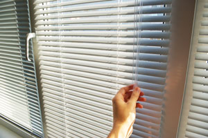 Closing the blinds
