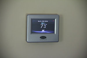 smart thermostat in the home